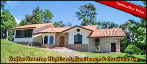 Coffee Country Highlands Residence & Guest House